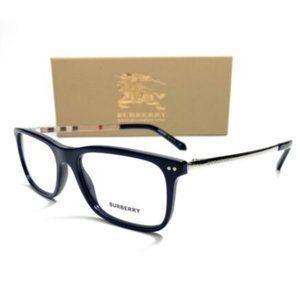 Burberry Men's Blue Rectangle Eyeglasses!